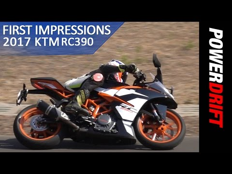 KTM RC390 (2017) : First Ride Impressions : PowerDrift