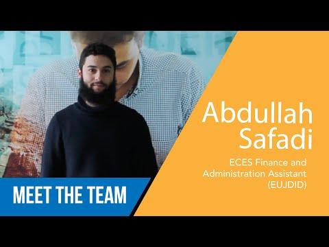 Abullah Safadi - Assistente Finanze ed Amministrazione EUJDID