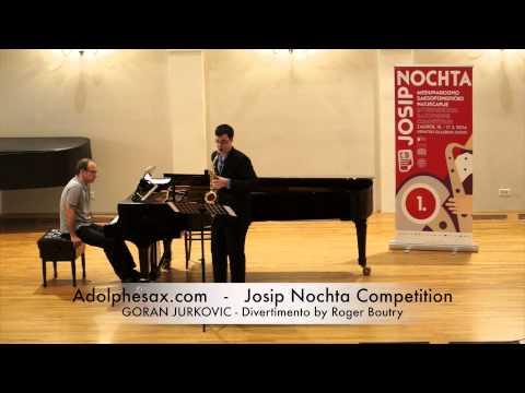 Josip Nochta Competition PHILIPPE TROVAO Quarter Tone Waltz by Gordan Tudor