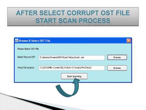 video SysData OST to PST Converter