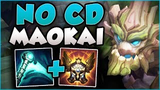 YOU KNOW RIOT WENT TOO FAR ON ER WHEN THIS WORKS! ESSENCE REAVER MAOKAI GAMEPLAY! League of Legends