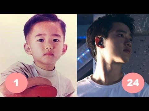 DO Kyungsoo EXO Childhood | From 1 To 24 Years Old