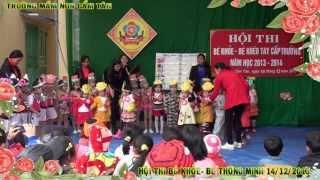 MN Cam Tan Hoi Thi Be Khoe - Be Kheo Tay 14/12/2013