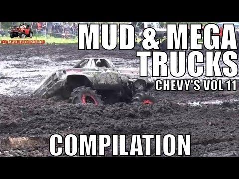 CHEVY MUD & MEGA TRUCK MUD COMPILATION 2018 VOL 11