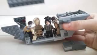 Lego Star Wars U Wing modifications