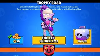 Opening All Brawlers and Legendary Brawlers at TROPHY ROAD | Brawl Stars