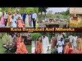 Rana Daggubati & Miheeka Bajaj Roka Function   Rana Daggubati And Miheeka Engagement   IG Telugu