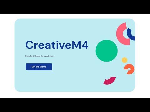 Mobirise Creative Web Theme | CreativeM4