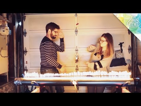 Visualizing Dubstep With A Tube Of Fire - Smashpipe Tech