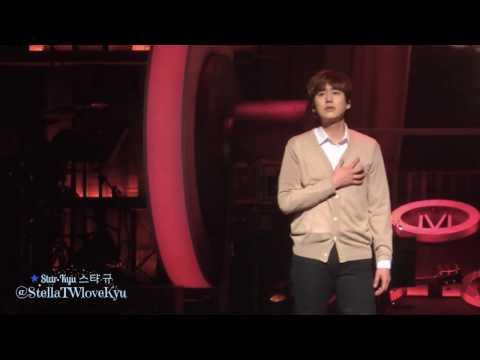 [Fancam] 161106 발길을 뗄 수 없으면 Werther - Kyuhyun solo concert in Busan