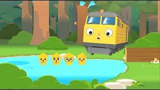 Kids Songs l Five Little Ducks l Nursery Rhymes l TITIPO TITIPO
