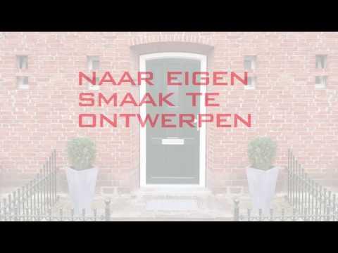 Kunststof voor-en achterdeuren - Benitech Kozijnen®
