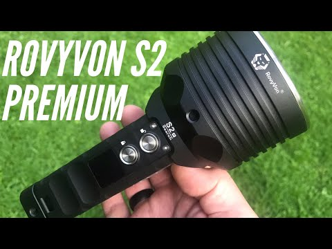Rovyvon S2 Premium Flashlight: THE MOST FEATURES I'VE EVER SEEN + 10,000 Lumens