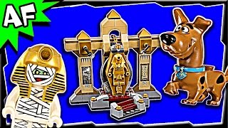 Lego Scooby-Doo MUMMY MUSEUM Mystery 75900 Stop Motion Build Review