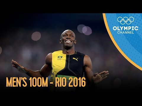 Men's 100m Final | Rio 2016 Replay