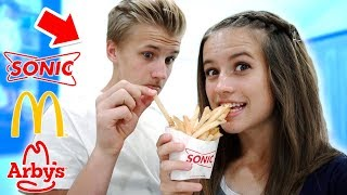 FRY CHALLENGE // Which Fast Food Restaurant Has the Best Fries?
