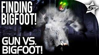 GUN VS. BIGFOOT... Armed and Ready! - Finding Bigfoot Game Gameplay Part 2 (Multiplayer)