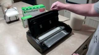 How to Vacuum Seal Food with FoodSaver V2840 - Part 1