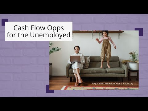 How to Increase Your Cash Flow During Your Layoff