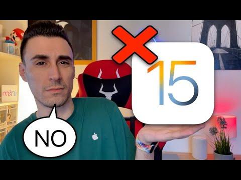 NON INSTALLATE iOS 15❌