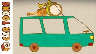 Car Toons full episodes. Trucks & cars for kids.