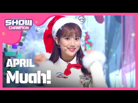 (ShowChampion EP.168) APRIL -  Muah! (에이프릴- Muah!)