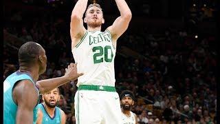 Gordon Hayward & Kyrie Irving Show Out In Hometown Debut vs The Hornets | 2018 NBA Preseason