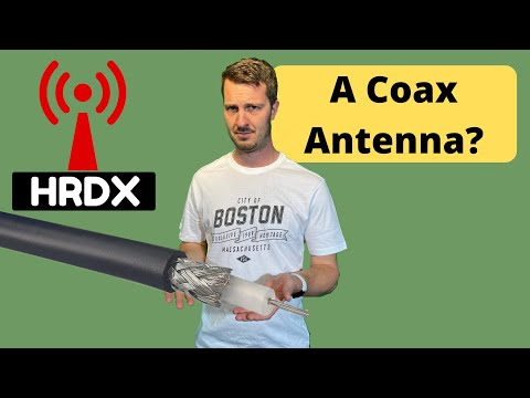 The EASIEST Antenna to build for Six Meters using one piece of RG-58 coax!