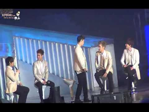 [Eng Sub CC} Super Junior M Nanjing Fan Party 14,  About Someone's Girlfriend 130119