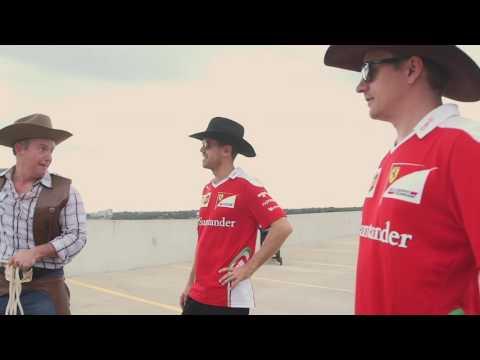 La 'verdadera' carrera de Vettel y Raikkonen en Austin