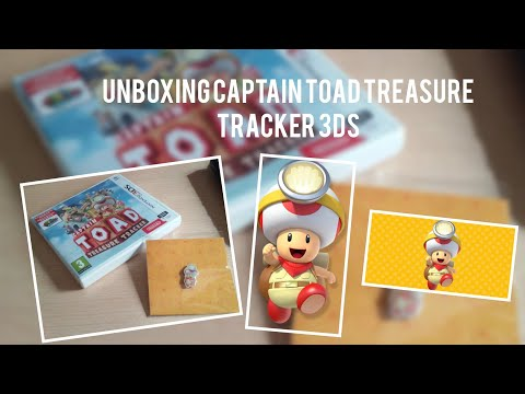 Unboxing Captain Toad Treasure Tracker (3DS) & breve Gameplay