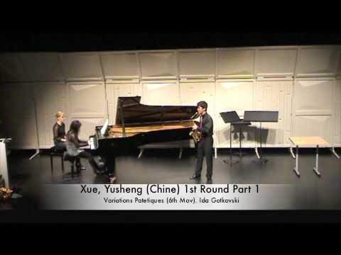 Xue, Yusheng (Chine) 1st Round Part 1