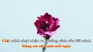 [Karaoke] Hao Xiang Ni (Em nhớ Anh) - Tê Tê