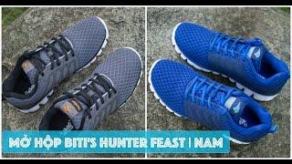 Mở hộp và đánh giá giày Biti's Hunter Feast  | Hunter 3 | LKCN