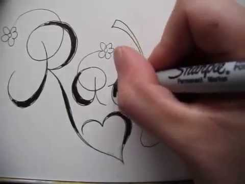 Cursive fancy letter how to write your beautiful letter r copperplate writing name rachel tattoo design accepted youtube request expocarfo