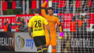 مباراة القمة ( نهائي كاس المانيا )   بروسيا دورتموند ضد بايرن ميونخ   PES ...