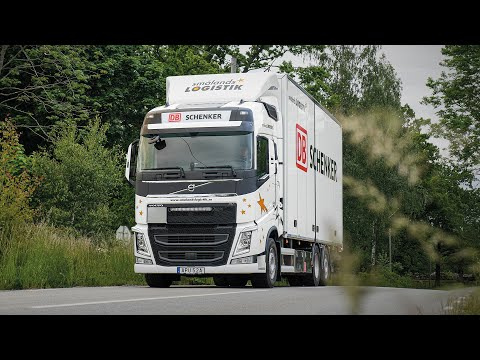 Volvo Trucks - Smålands Logistik expands with sustainability and safety in focus