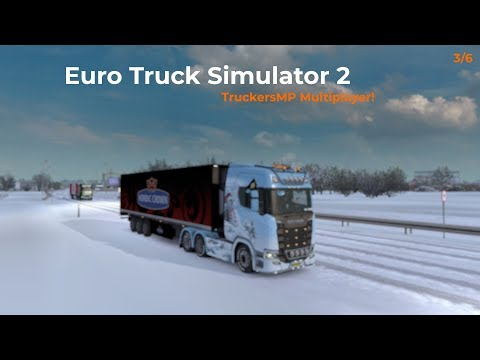 Euro Truck Simulator 2  TruckersMP  Part 36 Livestream 06012018