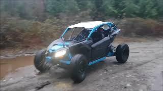 Can-Am Maveric X3 RC first run!