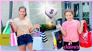 WE BOUGHT ONE THING FROM EVERY STORE IN THE MALL   SISTER FOREVER