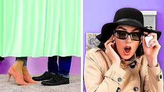 Whaat?! Funny Couple Pranks, Spy Girl Hacks, Relationship Struggles By A PLUS SCHOOL