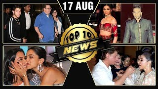 Nick Jonas & Family In Mumbai, Ranveer Deepika Italy Wedding, Katrina Kaif In Malta   Top 10 News