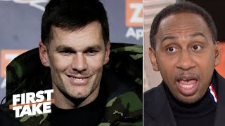 Stephen A. feels sorry for Tom Brady due to the Patriots' lack of talent | First Take