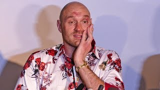 NEXT DAY!  Tyson Fury FULL PRESS CONFERENCE after Deontay Wilder Fight