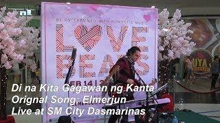 Di na Kita Gagawan ng Kanta - Elmerjun Original Song Live at SM City Dasmarinas