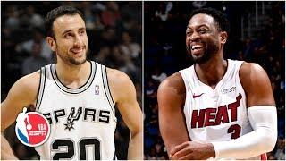 Ginobili, Harden & Wade rank among best Eurostep players in NBA history | NBA Highlights