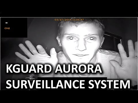 KGuard Aurora AR421-CKT001 4 Camera Video Surveillance System - Smashpipe Tech