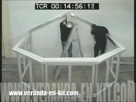veranda en kit clikit youtube. Black Bedroom Furniture Sets. Home Design Ideas