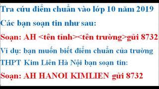 Điểm thi tuyển sinh vào lớp 10 tại Nam Định năm 2019