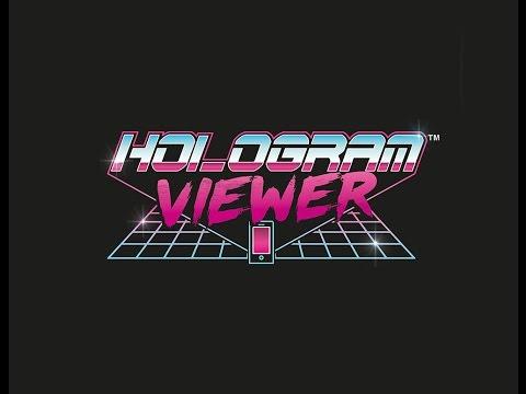 Luckies Hologram Viewer